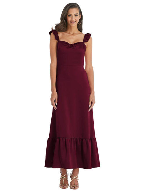 Milana Cabernet Red Bridesmaids Dress by Dessy