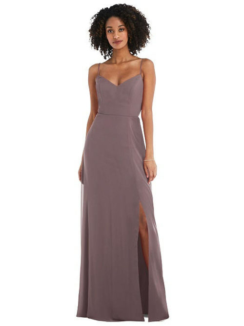 Ashleigh French Truffle Bridesmaids Dress by Dessy