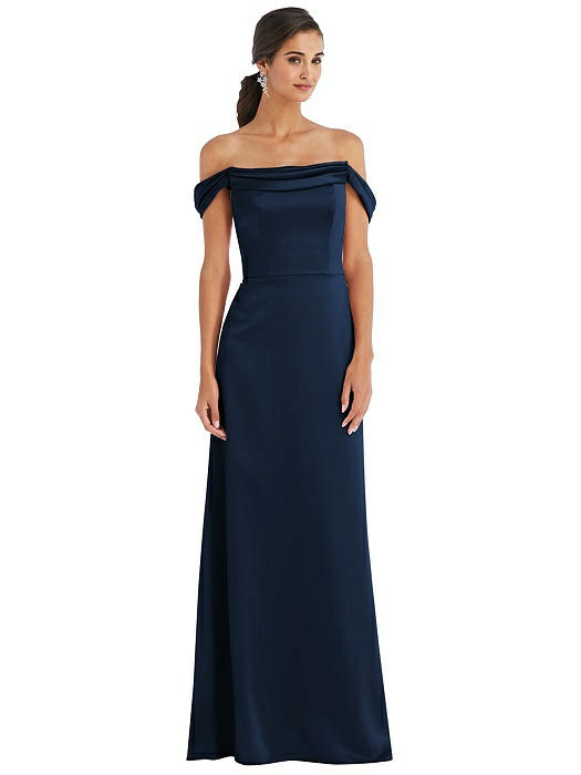 Madison Midnight Blue Bridesmaids Dress by Dessy