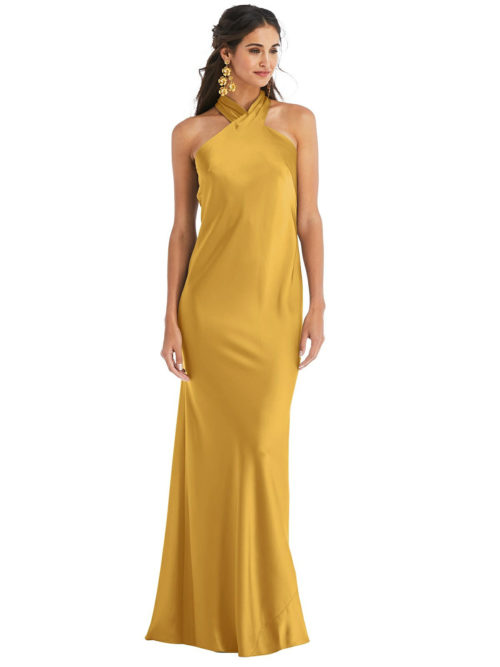 Imogen NYC Yellow Bridesmaids Dress by Dessy